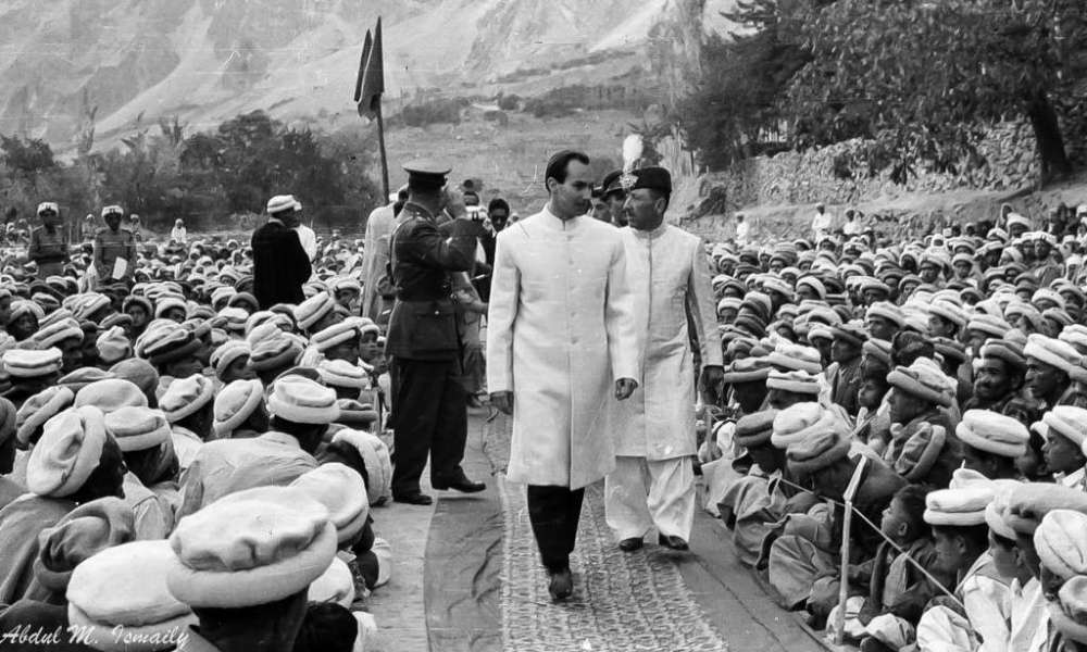 Aga Khan in Hunza 1960