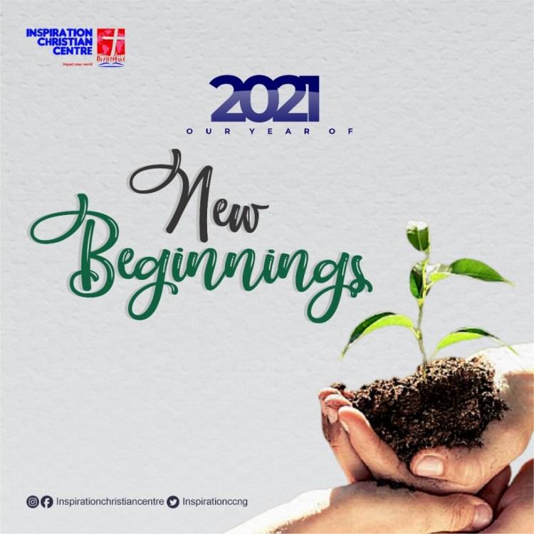 2021 Year of New Beginnings