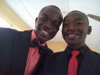 Tunde Badmus with Ogunbowale Olugbenga