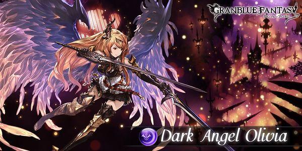 Wallpaper 1920x1080 Girl Dark Angel Olivia Raid Granblue Fantasy Wiki