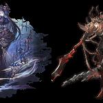 【グラブル】闇はハイランダー最適、コルル、シス調整、黒騎士最終、年末に限定キャラ2人と強化されすぎたので懲役されそう・・・懲役されても当面は大丈夫そうだし、闇は安上がりだからダメージも少ない