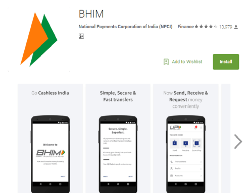 BHIM Mobile payment App Launched - Your Thumb Is Your Bank