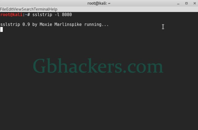 MITM attack over HTTPS connection with SSLStrip  - sslstrip4 - MITM attack over HTTPS connection with SSLStrip