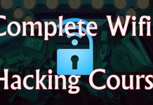 Complete WiFi Hacking Course 2017 at promo price of $30