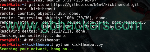 KickThemOut - Tools to kick devices out of your network and enjoy all the bandwidth