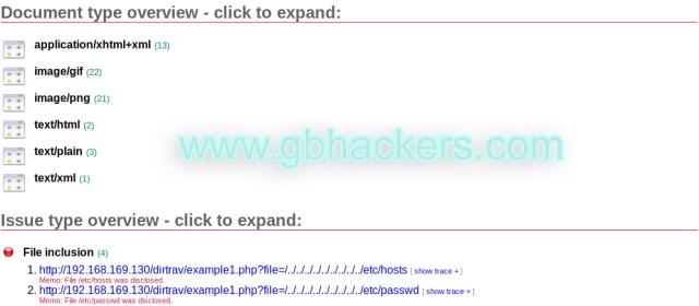 Skipfish   Web application security scanner