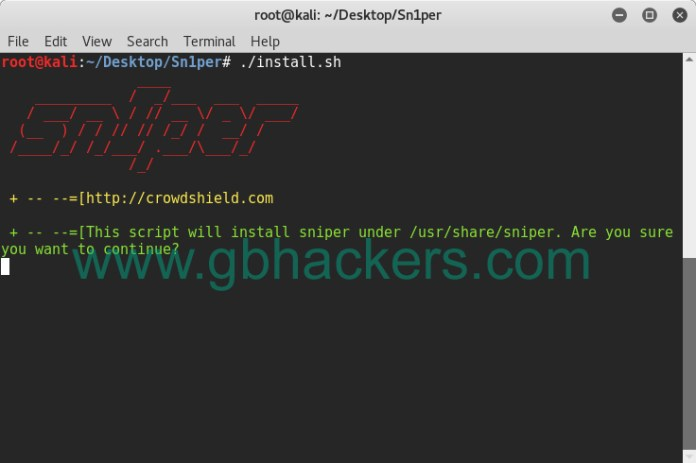 - sniper3 - Automated Information Gathering & Penetration Testing Tool
