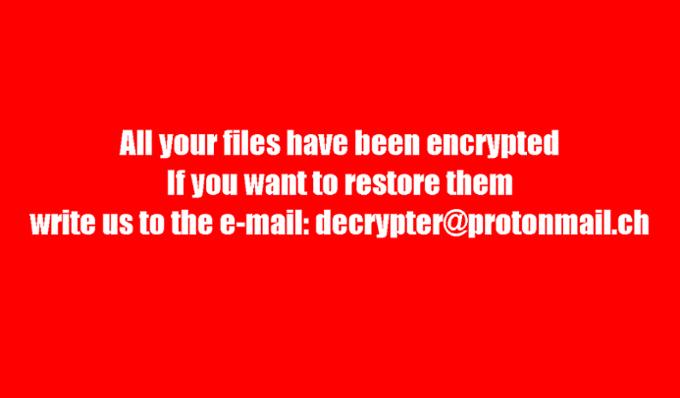 Decryptor tool for BTC ransomware