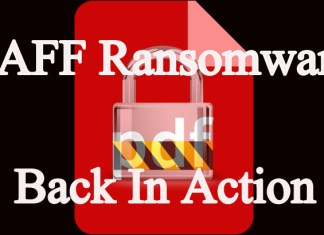 Ransomware JAFF Back in action