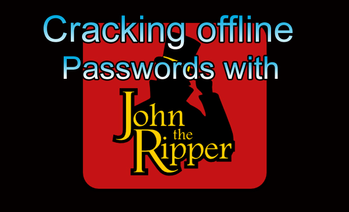 Offline password cracking with John the Ripper
