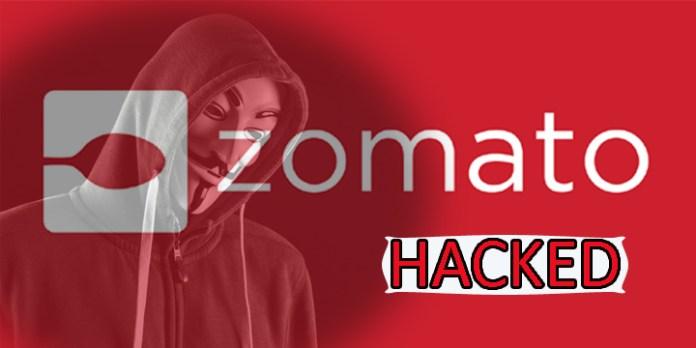 Zomato's Massive Data Breach about 17 Million User Record Stolen