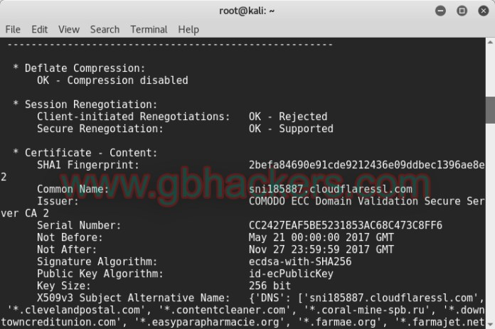 SSLyze Fast and Complete SSL Scanner to find Misconfiguration  - SSLlyze1 - Fast and Complete SSL Scanner to find Misconfiguration