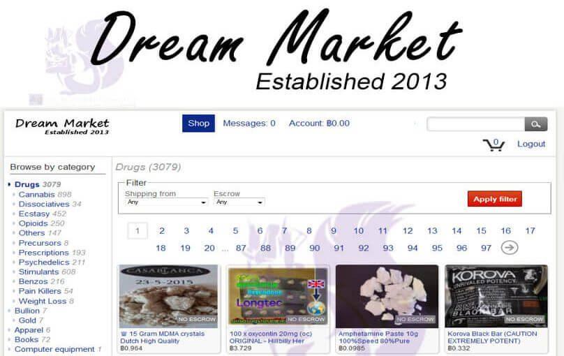 dream market bitcoin adresas pasikeitė)