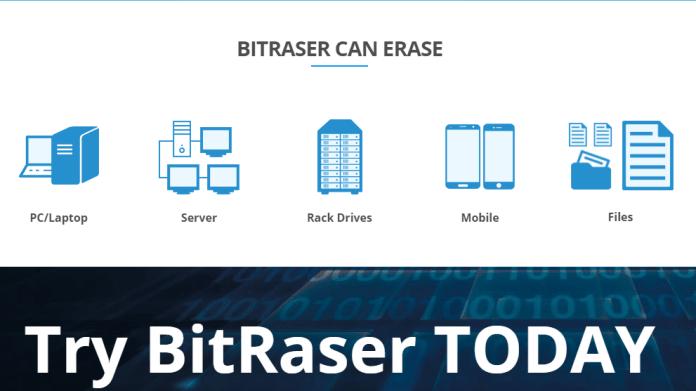 BitRaser Managed & Certified Data Erasure Solution