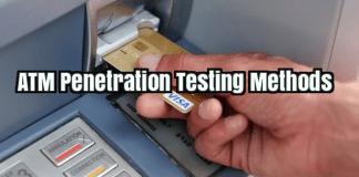 ATM Penetration testing