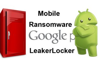 Mobile Ransomware LeakerLocker