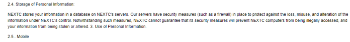 - 2 - Privacy Policy -What kind of Sensitive Information Collecting by Websites