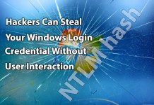steal windows login Credential
