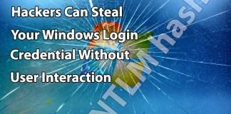 steal windows login Credential