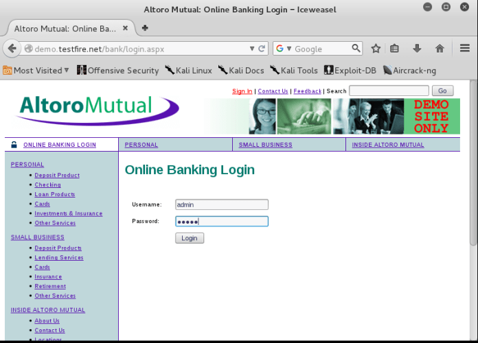 - net19 - MITM attack – Net Creds-Sniff out Username and Password of Users