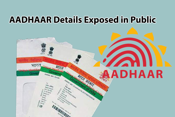 Aadhaar Details Exposed