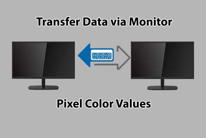 transfer data  - Data transfer - How to Transfer Data via Monitor Pixel Color Values