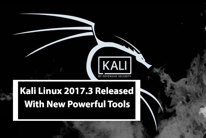 Kali Linux 2017.3