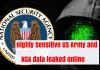 NSA Data Leaked