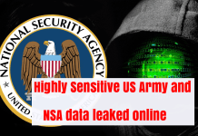 NSA Data Leaked