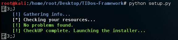 - Screenshot 374 - TIDoS Framework -Web Penetration testing toolkit for Reconnaissance