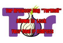 Tor Browser Bug