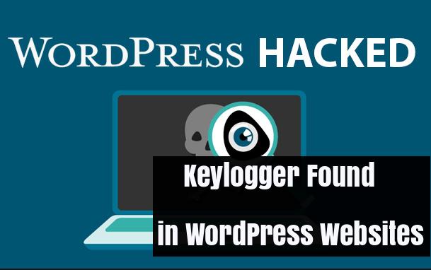 Wordpress Keylogger  - Tb4jg1512660599 - WordPress Keylogger Found on more than 5500 Websites