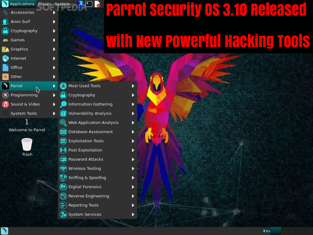 Parrot Security OS 3 10 Released with Powerful New Hacking Tools