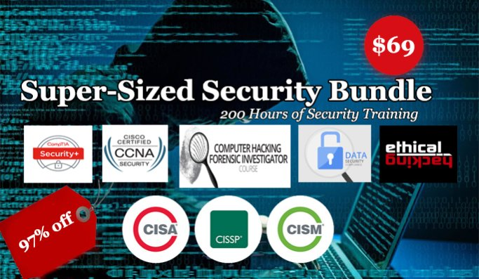 Network Security Course Bundle - 2018 Become Master in Cyber Security
