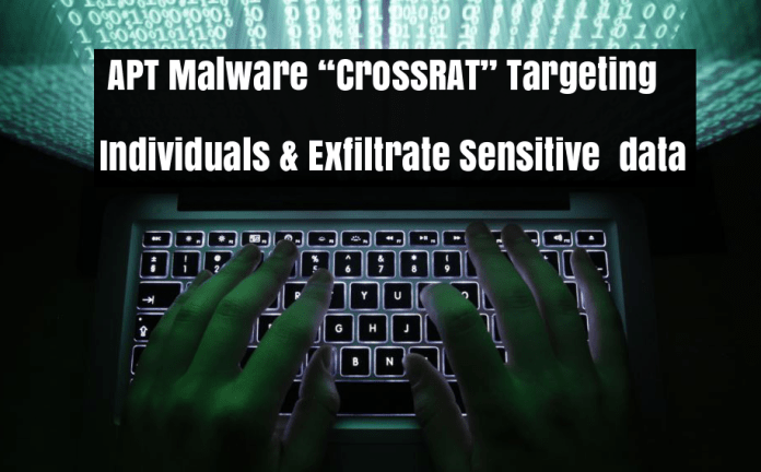 CrossRAT Malware  - CrossRAT Malware  - APT CrossRAT Malware Targeting Individuals & Steal sensitive Data