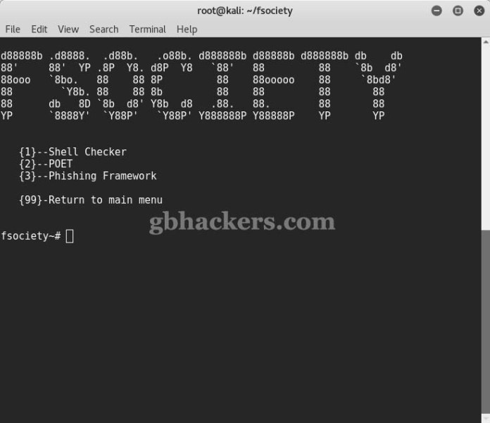 fsociety  - Fsociety 10 - fsociety a Complete Hacking Tools pack that a Hacker Needs