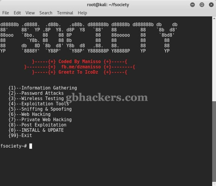 fsociety  - Fsociety 2 - fsociety a Complete Hacking Tools pack that a Hacker Needs
