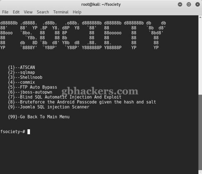 - Fsociety 6 - fsociety a Complete Hacking Tools pack that a Hacker Needs