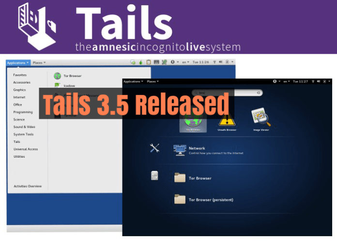 Tails  - Tails - New Version of Privacy and Anonymous Operating System Tails Released