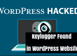 WordPress Keylogger