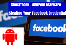 GhostTeam Android Malware