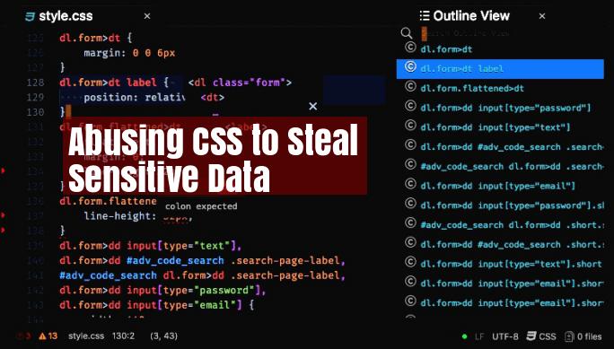 CSS Exfil