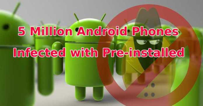 5 Million Android Phones Infected