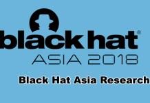 BlackHat Asia 2018