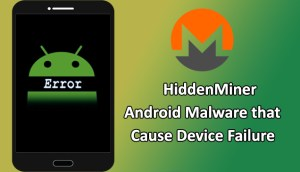 Hiddenminer - Android malware
