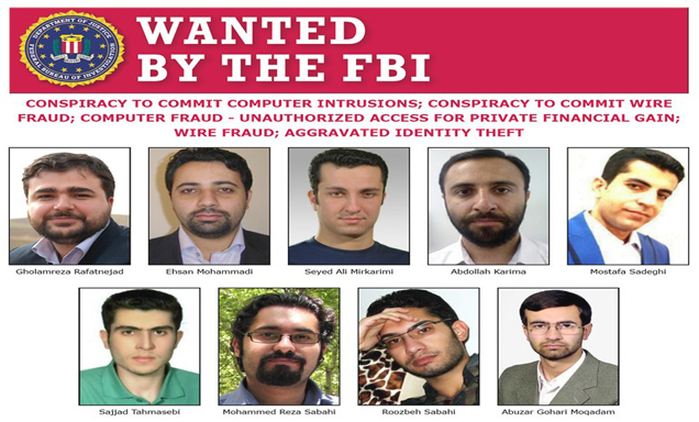 Nine Iranian Hackers  - Nine Iranians - Nine Iranian Hackers Charged for Massive Cyber Theft Campaign