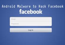 Steals Facebook Credentials