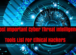 Threat Intelligence Tools
